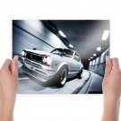 Nissan Skyline Gtr Tunnel Motion Blur Tv Movie Art Poster 24x18 inch