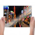 Buildings Canal Night Lights Tv Movie Art Poster 24x18 inch