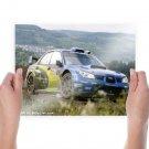 Subaru Wrx Rally Tv Movie Art Poster 24x18 inch