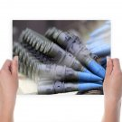 Macro Ammunition Shells Bullets Tv Movie Art Poster 24x18 inch