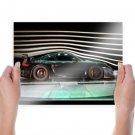 Porsche Test Tv Movie Art Poster 24x18 inch