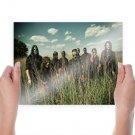 Slipknot Band Tv Movie Art Poster 24x18 inch