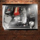 Honda S2000 Engine Tv Movie Art Poster 32x24 inch