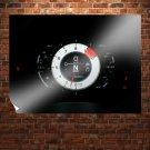 Lexus Lfa Gauges Black Tv Movie Art Poster 32x24 inch