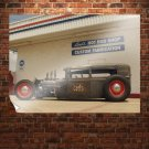 Hot Rod Rat Rod Chopped Tv Movie Art Poster 32x24 inch