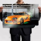The Fast And The Furious Toyota Supra Tv Movie Art Poster 36x24 inch