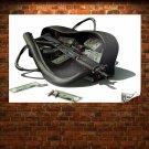 Merc Mercenary Mercenary Rifle Rifle Tv Movie Art Poster 36x24 inch