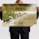 Rocket Launcher Tv Movie Art Poster 36x24 inch