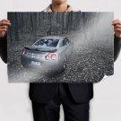 Nissan Skyline Gtr Forest Leaves Trees Tv Movie Art Poster 36x24 inch