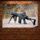 Rifle Tv Movie Art Poster 36x24 inch