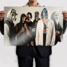 Hollywood Undead Mask Hoodie Tv Movie Art Poster 36x24 inch