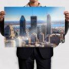 Buildings Skyscrapers Tilt Shift Tv Movie Art Poster 36x24 inch