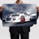 Mitsubishi Lancer Evolution Evo Clouds Tv Movie Art Poster 36x24 inch