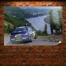 Subaru Wrx Sti Rally Tv Movie Art Poster 36x24 inch