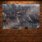 Buildings Tv Movie Art Poster 36x24 inch