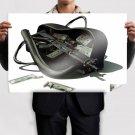 Rifle Bag Money Cash Currency Mercenary Tv Movie Art Poster 36x24 inch