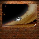 Rally Car Tv Movie Art Poster 36x24 inch