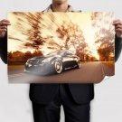 Infiniti G37 Motion Blur Road Tv Movie Art Poster 36x24 inch