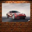 Ferrari F12 Berlinetta Tv Movie Art Poster 36x24 inch