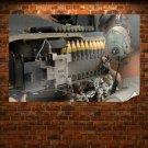 Shells Ammunition Tv Movie Art Poster 36x24 inch