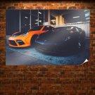 Porsche Panamera Lamborghini Aventador Warm Tv Movie Art Poster 36x24 inch