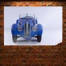 Bmw Classic Car Classic Tv Movie Art Poster 36x24 inch
