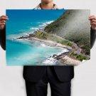 The Great Ocean Road  Art Poster Print  36x24 inch