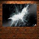 The Dark Knight Rises Bat  Art Poster Print  36x24 inch