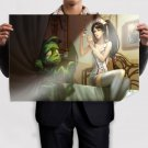 League Of Legends  Art Poster Print  36x24 inch