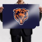 Chicago Bears  Art Poster Print  36x24 inch