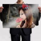 Beauty And Alone  Art Poster Print  36x24 inch