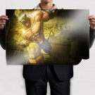 King In Tekken  Art Poster Print  36x24 inch