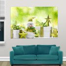 Holiday Christmas Hd  Art Poster Print  36x24 inch