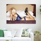 Pamela Anderson January 2012 Calendar  Art Poster Print  36x24 inch