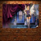 Faery By Toxic Wolf  Art Poster Print  36x24 inch
