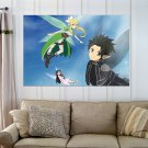Sword Art Online Hd S Art Poster Print  36x24 inch