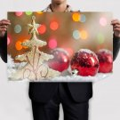 Christmas Decorations  Art Poster Print  36x24 inch