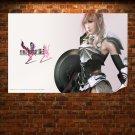 Final Fantasy Xiii 2  Art Poster Print  36x24 inch