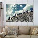 Aleppo Citadel  Art Poster Print  36x24 inch