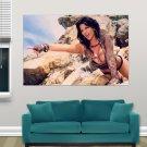 Hot Model Denise Milani  Art Poster Print  36x24 inch