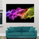 Abstract Colours  Art Poster Print  36x24 inch