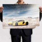 Lamborghini Aventador Lp700 4  Art Poster Print  36x24 inch