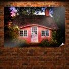 Beautiful House  Art Poster Print  36x24 inch