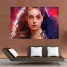 Dark Princess  Art Poster Print  36x24 inch