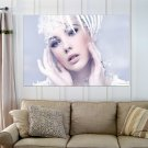 Cg Girl With Her Stunning Makeup  Art Poster Print  36x24 inch