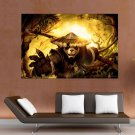 World Of Warcraft   Mists Of Pandaria Hd S Art Poster Print  36x24 inch