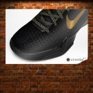 Kobe Bryant Vii Elite Series Basketball Shoes Art Poster Print  36x24 inch