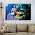 Princess Katy Perry  Art Poster Print  36x24 inch