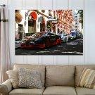Vehicles Bugatti Veyron  Art Poster Print  36x24 inch