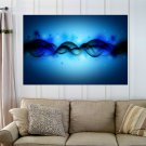 Light Abstract  Art Poster Print  36x24 inch